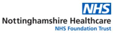 Nottinghamshire Healthcare NHS Trust